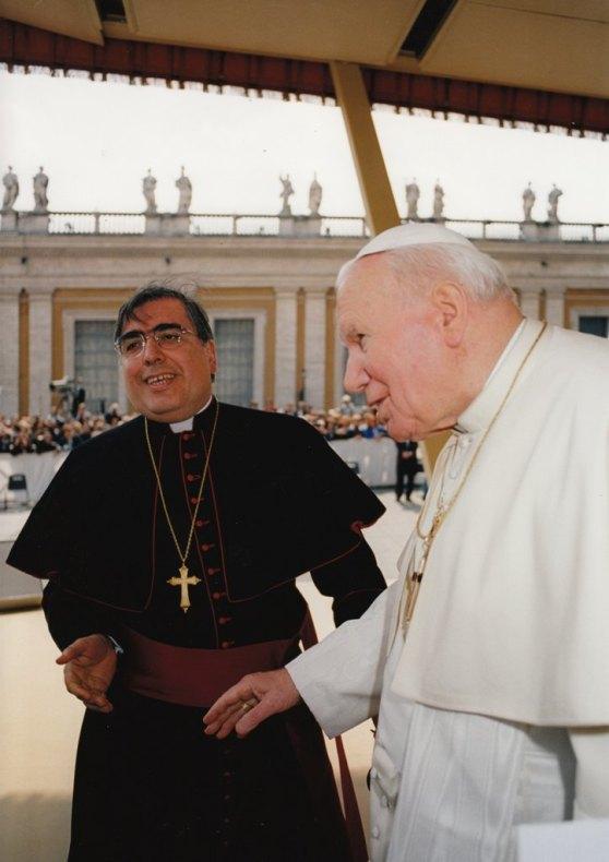 Mons. Fontana - Papa Wojtyla
